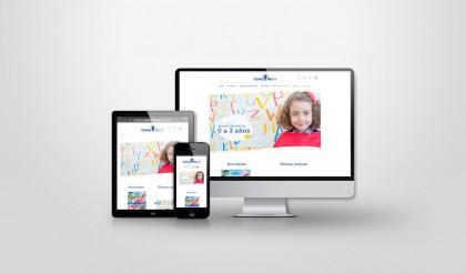 diseño web para Guardería Carlos María en León - Indipro.es